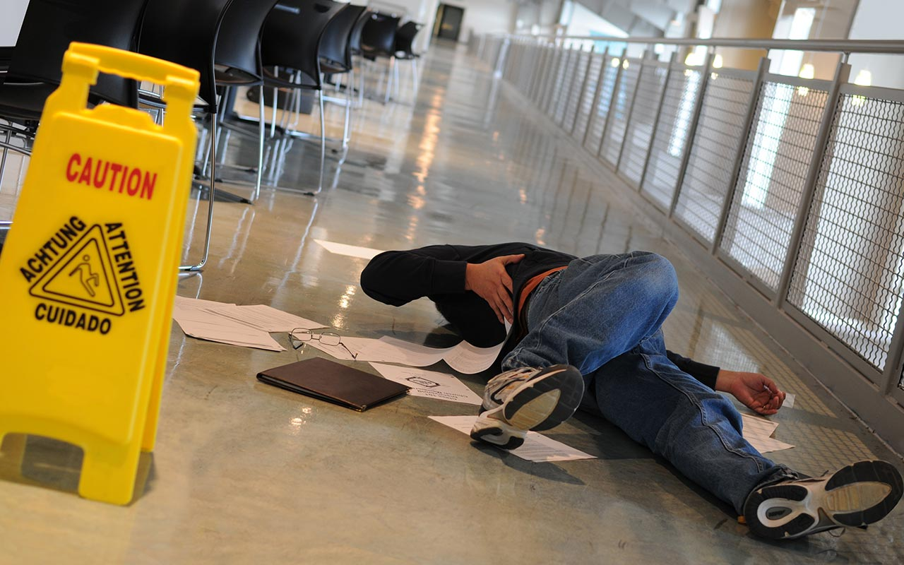 Why you need to give notice in slip-and-fall cases
